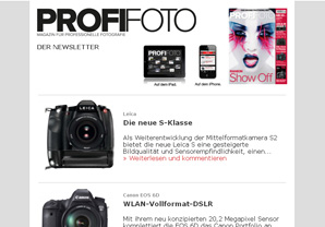 ProfiFoto Newsletter