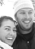 Jonathan Irish und Stefanie Payne
