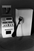 4_James_Casebere_Fork_in_The_Refrigerator_1975