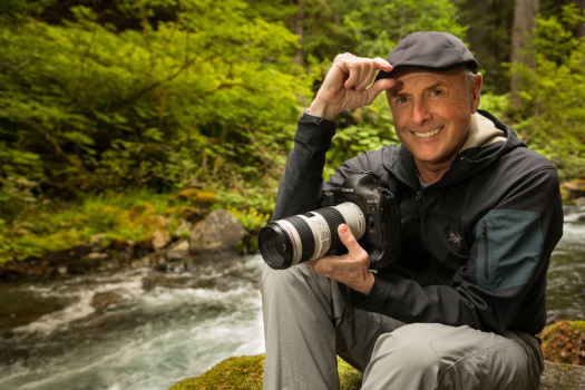 Photographer Art Wolfe on Location