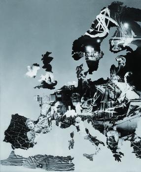 Werner Bischof's montage of Europe.