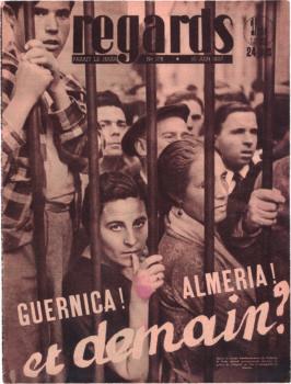 Gerda Taro, Titel der Zeitschrift 'regards' vom 10. Juni 1937
