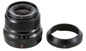 PF_Fujifilm_XF23mmF2_R_WR_Black_Included_Hood_Separated_Up_07