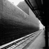 Berlin-Charlottenburg, S-Bahnhof Savignyplatz (Savignyplatz Metro Station), 1966, 17,9 × 18,0 (24,0 × 18,0) cm