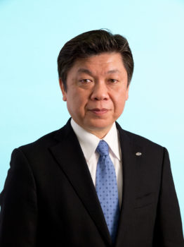 Haruo Ogawa, Chief Technology und R&D Officer der Olympus Corporation