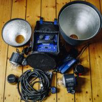Hensel Porty L1200 inkl. 2 Blitzköpfen und Funkkauslöser