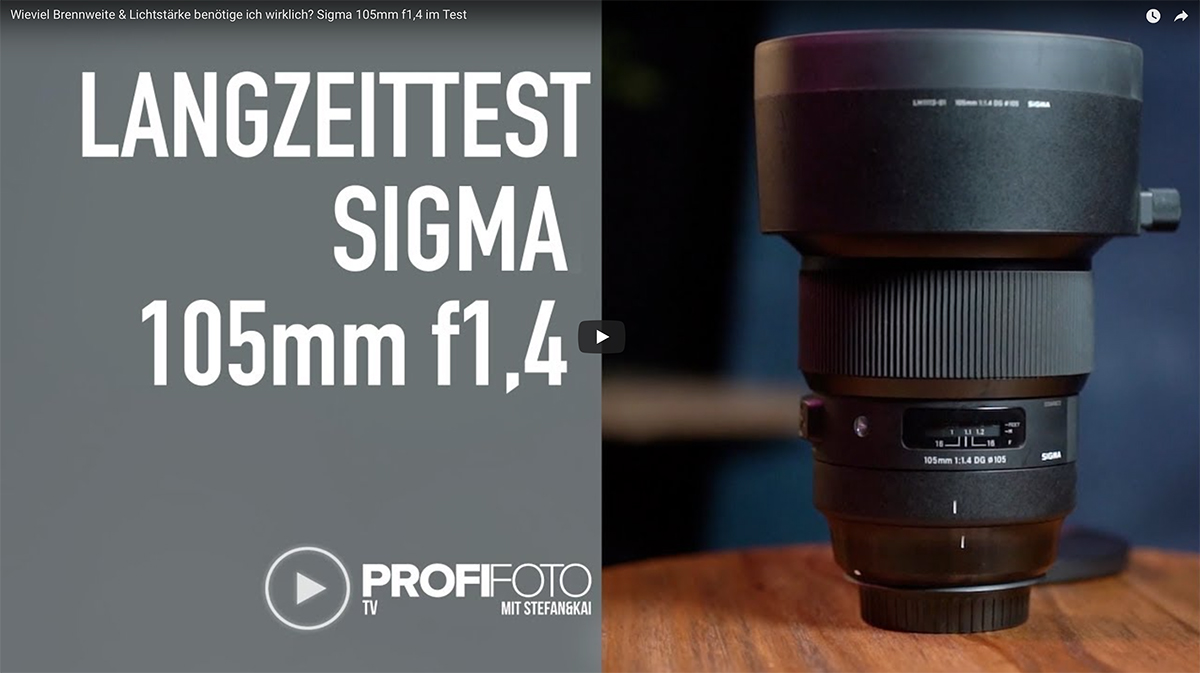 Test: Sigma 105mm f1,4