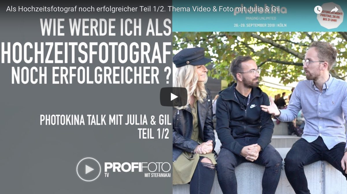 Photokina TV – Julia & Gil