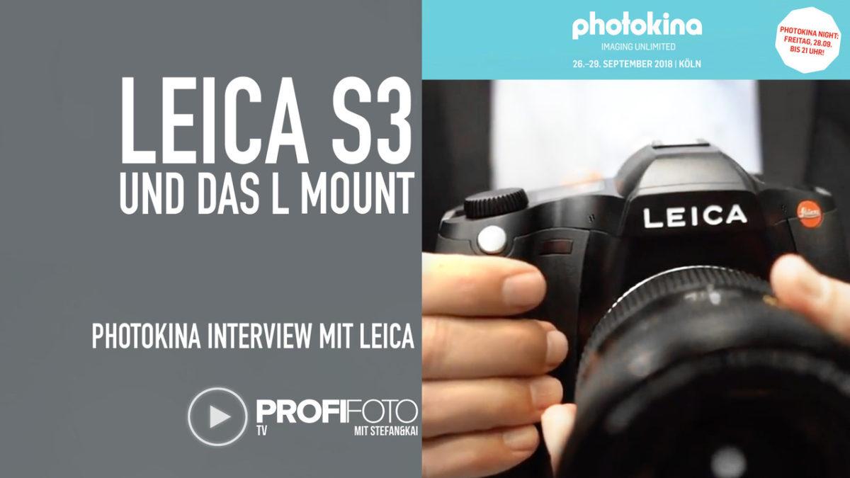 ProfiFoto TV: Leica S3