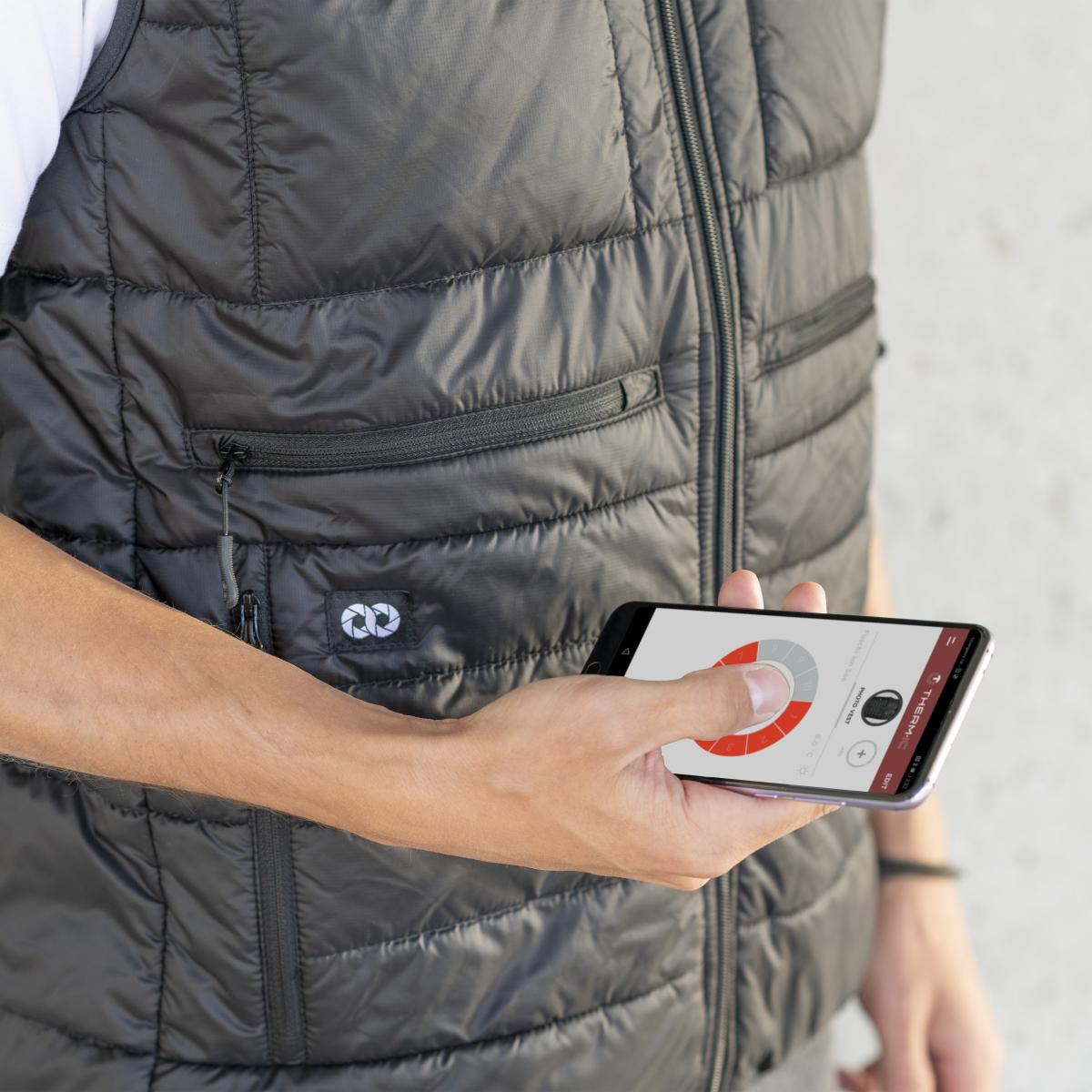 Heatable Photo Vest