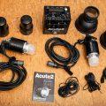PROFOTO ACUTE 2 1200WS Set mit zwei Blitzköpfen und Reflektoren
