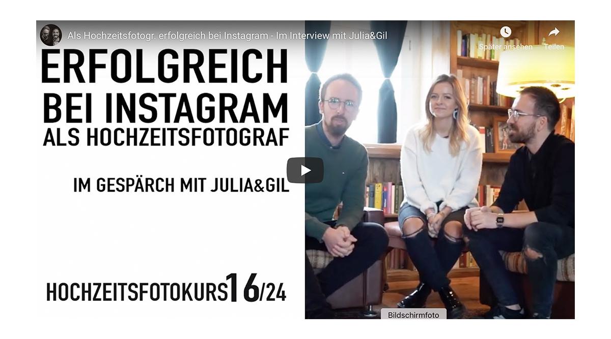 ProfiFoto TV: Als Hochzeitsfotograf erfolgreich bei Instagram