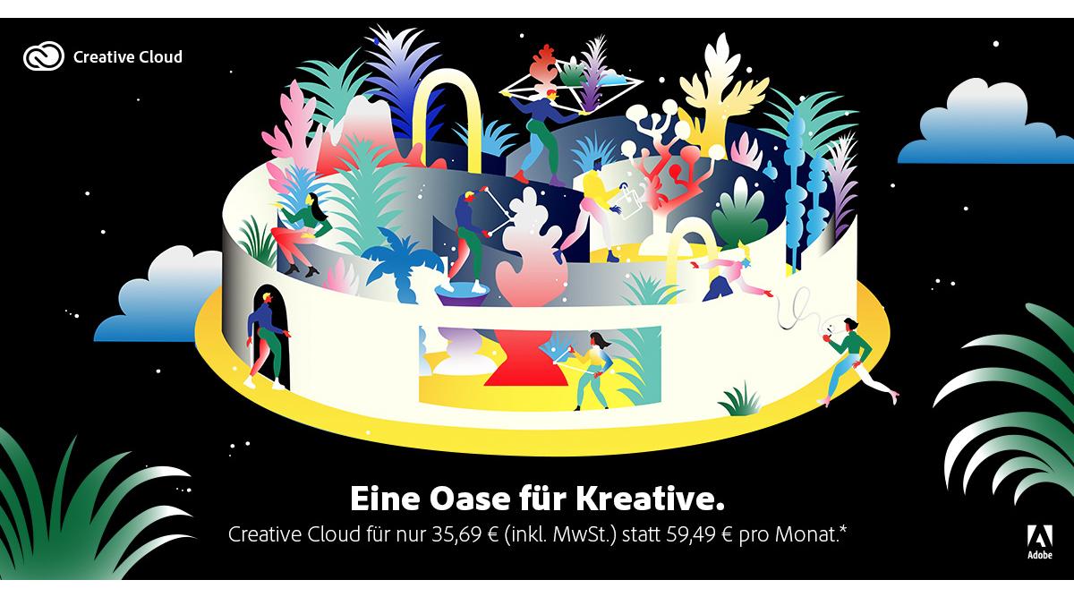 Creative Cloud zum Sonderpreis