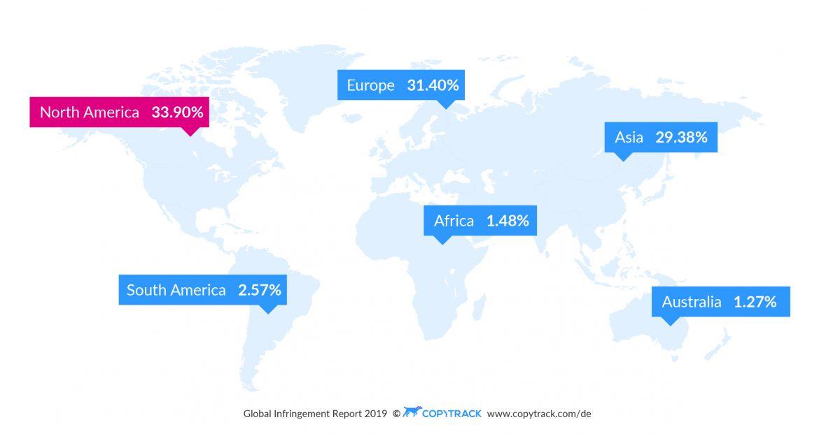 Bildrechtsverstöße im internationalen Vergleich