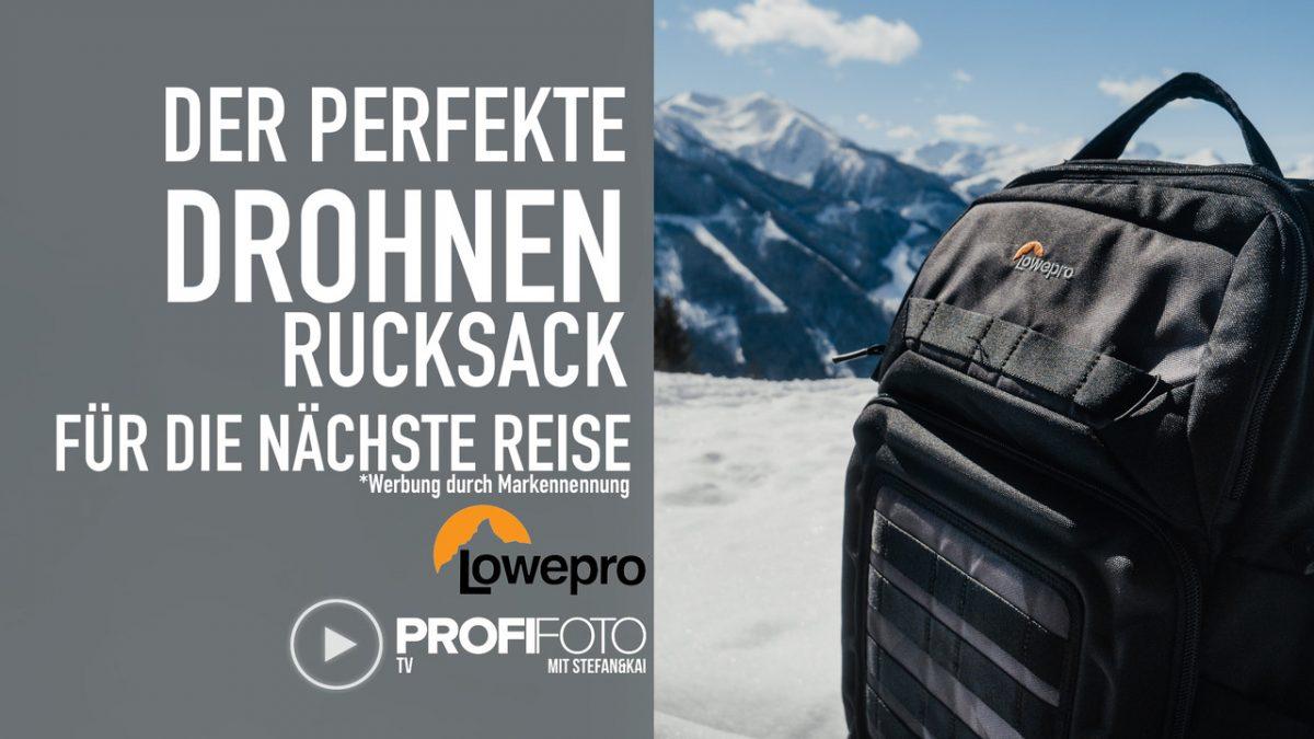 ProfiFoto TV: Der perfekte Drohnenrucksack – Lowepro Droneguard BP 250