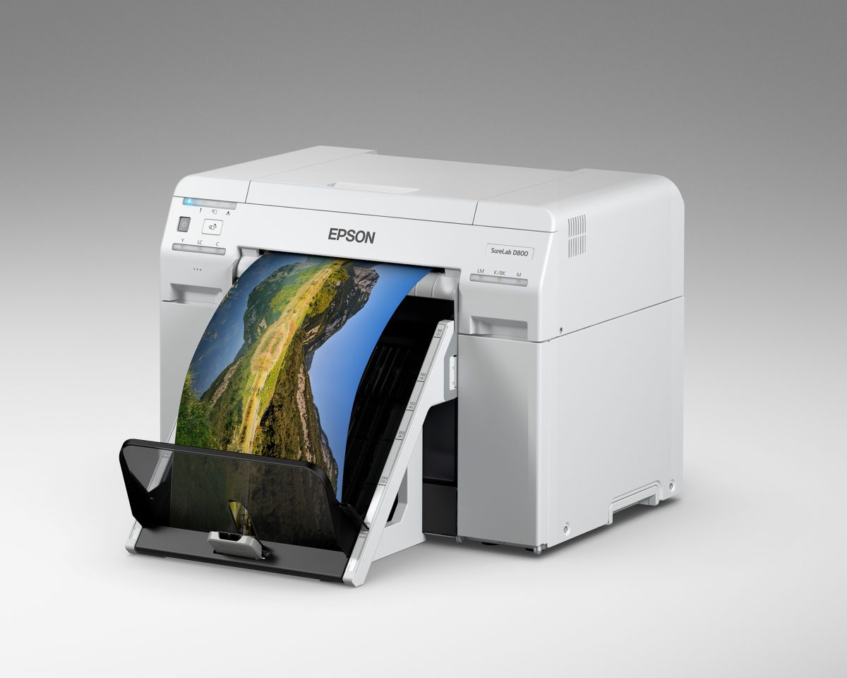 Kompakter Foto-Produktionsdrucker