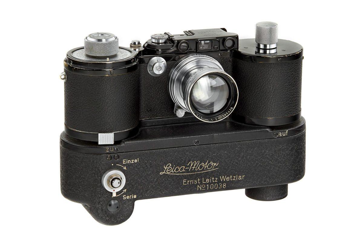 Millionenbetrag für Leica MP-2