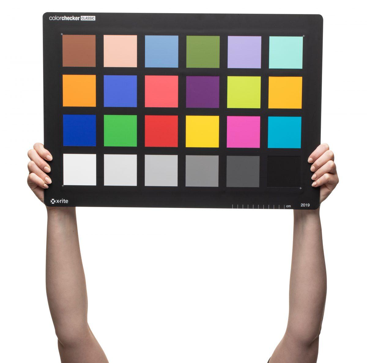 Neue Colorchecker-Größen