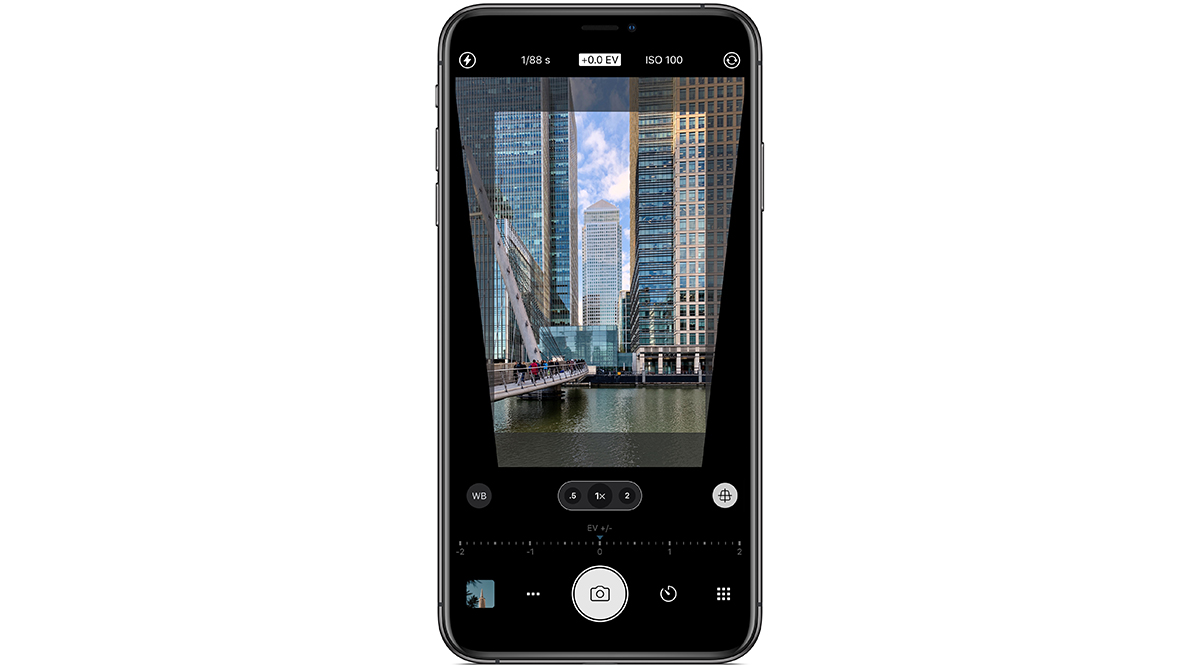 LensTRUE mit ProCamera App