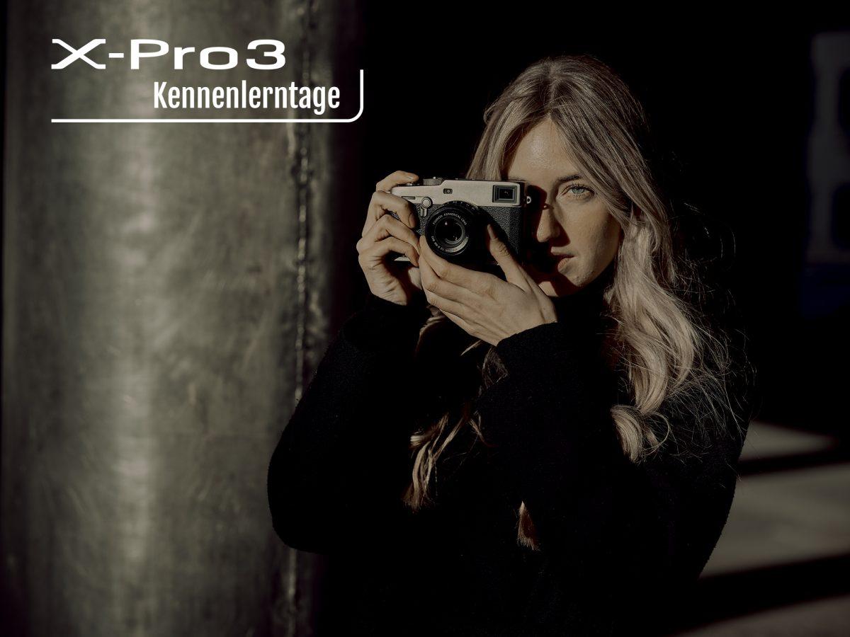 X-Pro3 Kennenlerntage