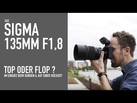 ProfiFoto TV: Sigma 135mm f1.8 – Gut genug für Hochzeiten & Portraits?