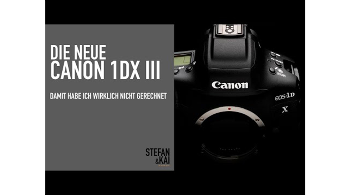 Canon 1Dx Mark 3 – Beste Filmkamera EVER!?