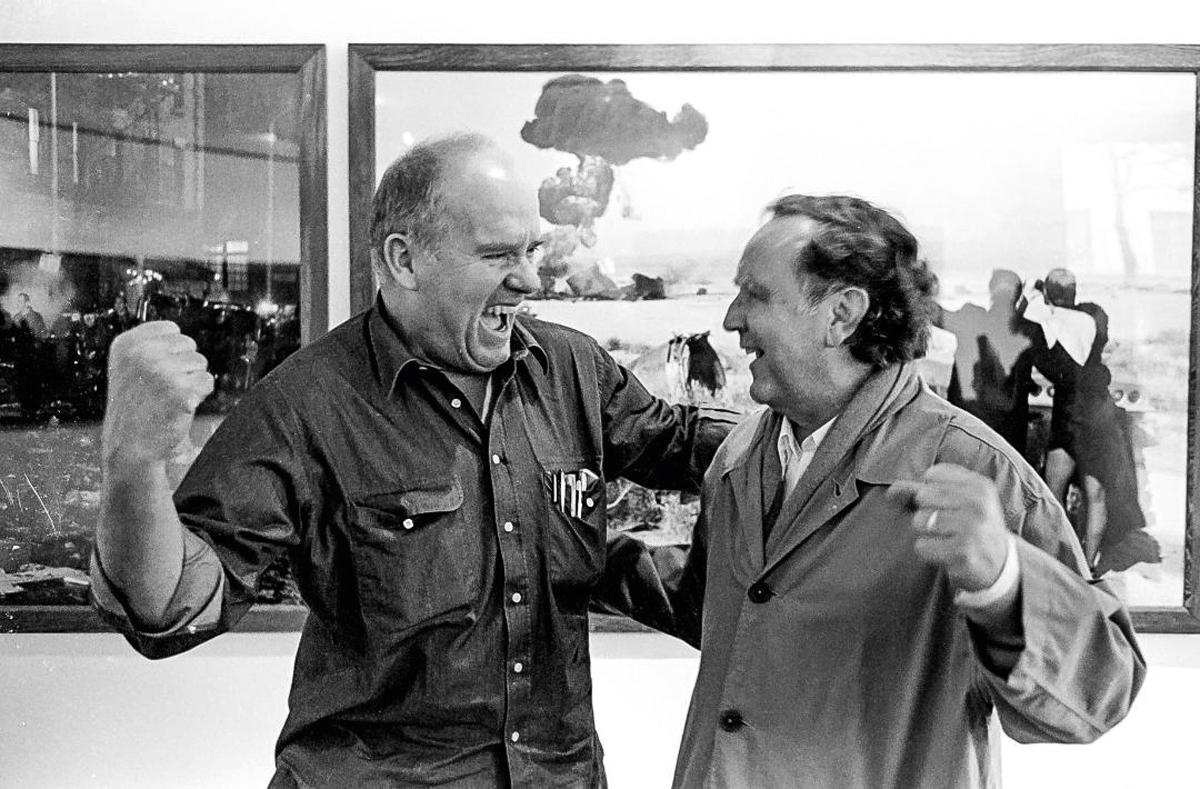 Hans Lux über Peter Lindbergh