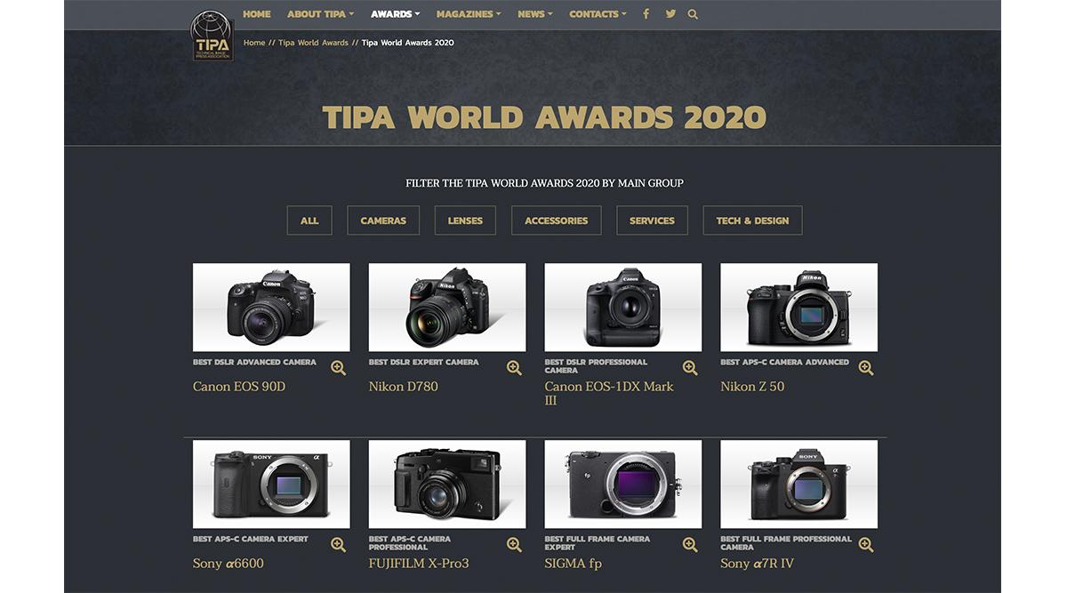 TIPA Awards 2020