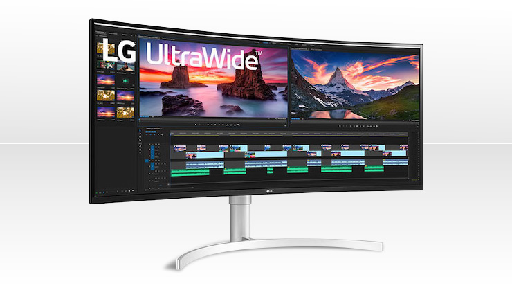 LG UltraWideTM 38WN95C – Bester Video-Monitor