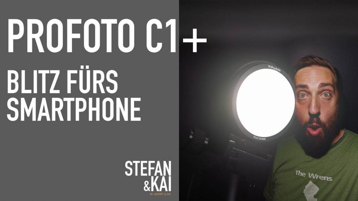 Blitzrevolution für dein Smartphone – Profoto C1 Plus