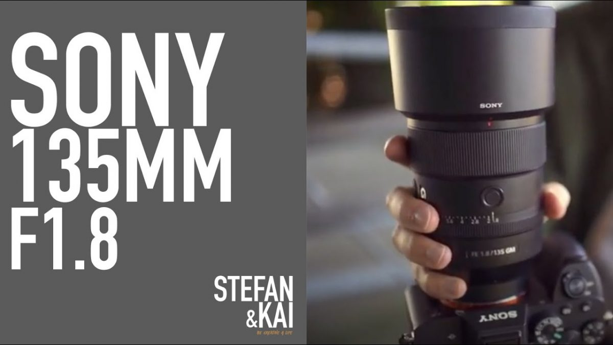 Sony 135 mm f1,8 G Master