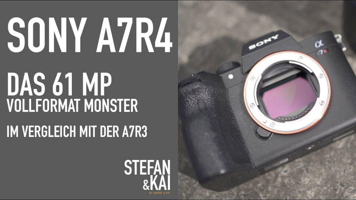 Vergleich: Sony A7R IV und A7R III