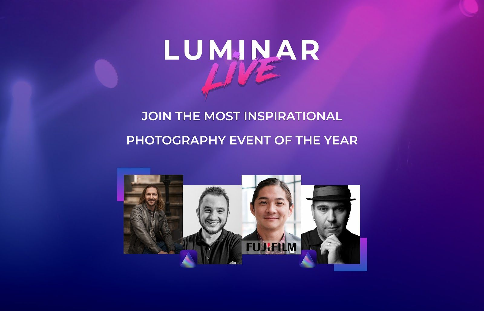 Online-Event Luminar Live