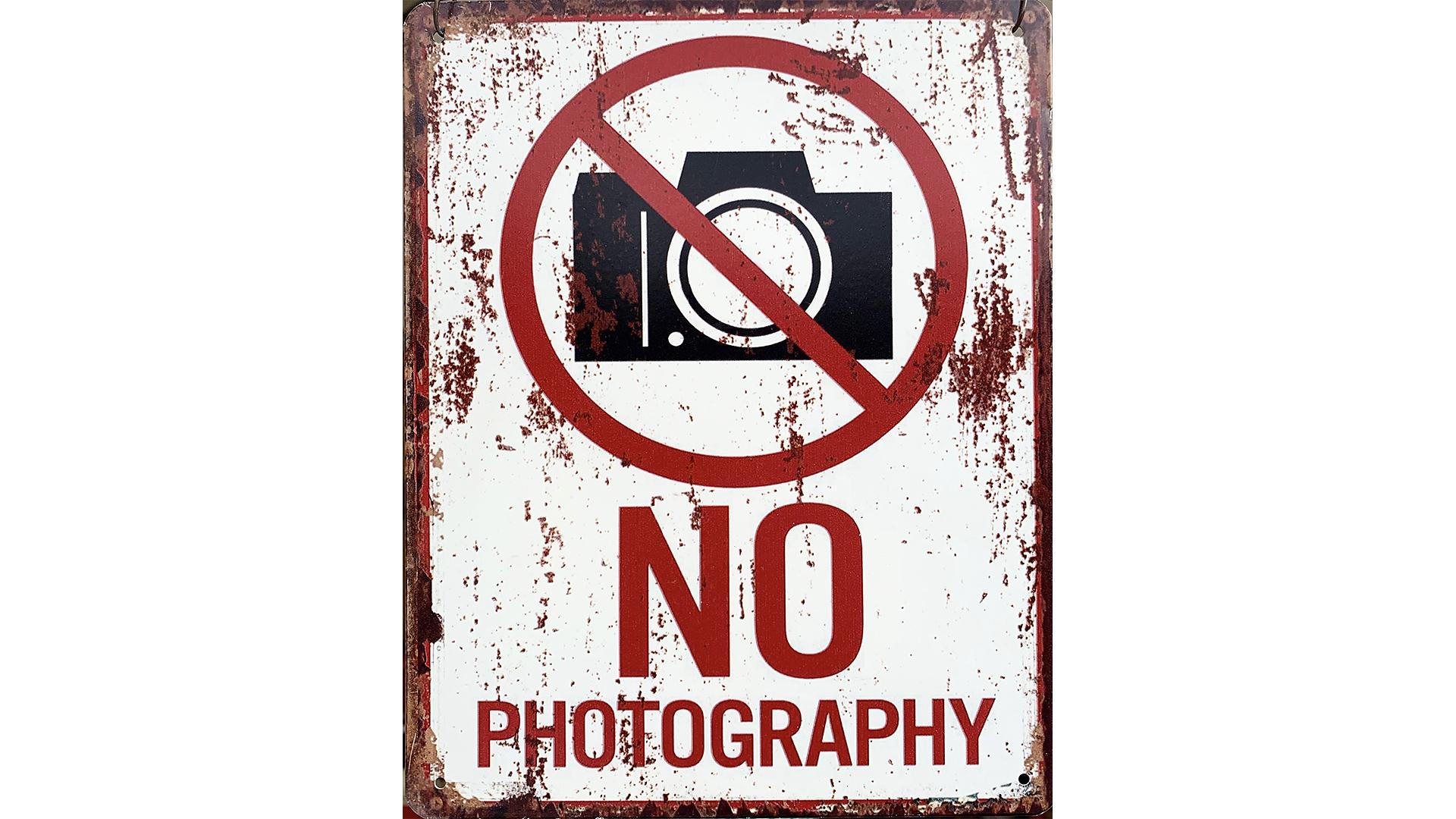 Regeln für Foto-Shootings