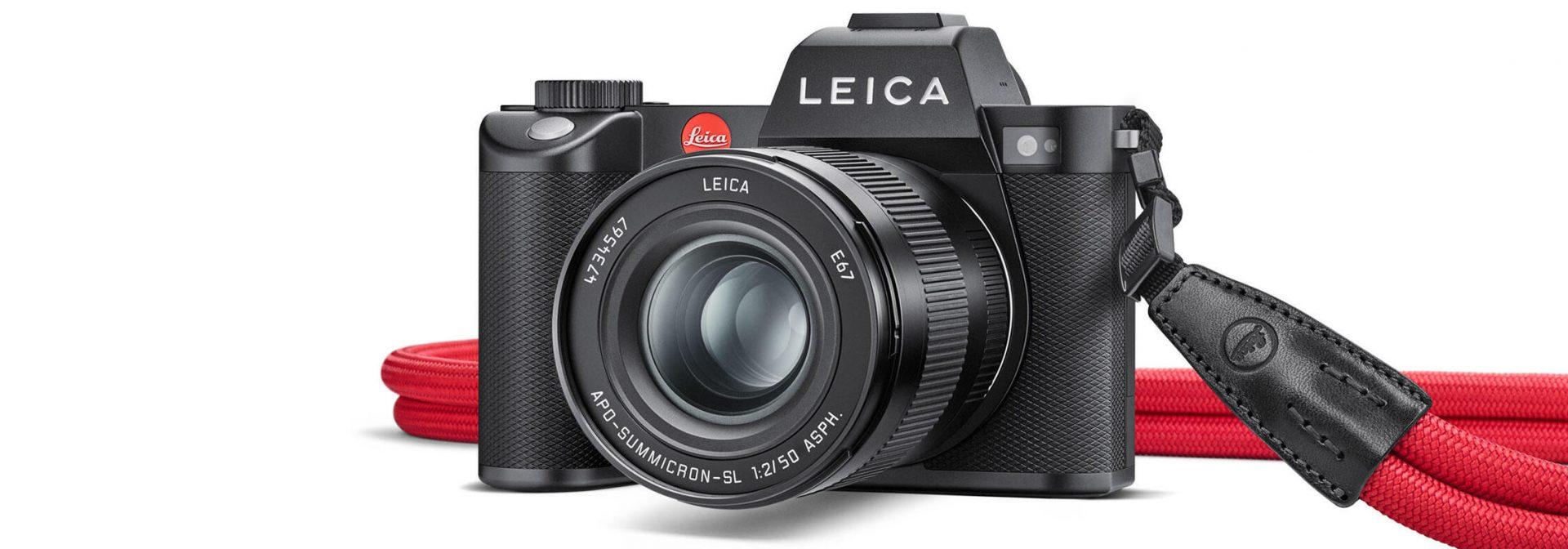 Leica auf Speed