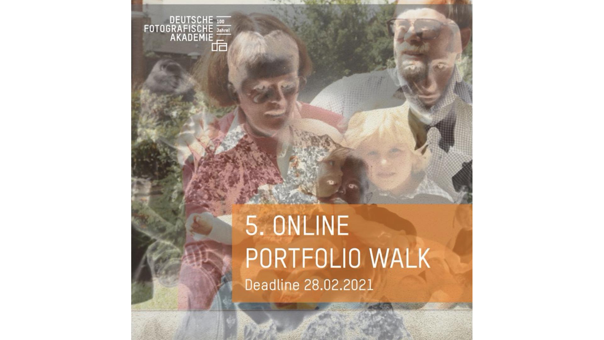 5. Online Portfolio Walk