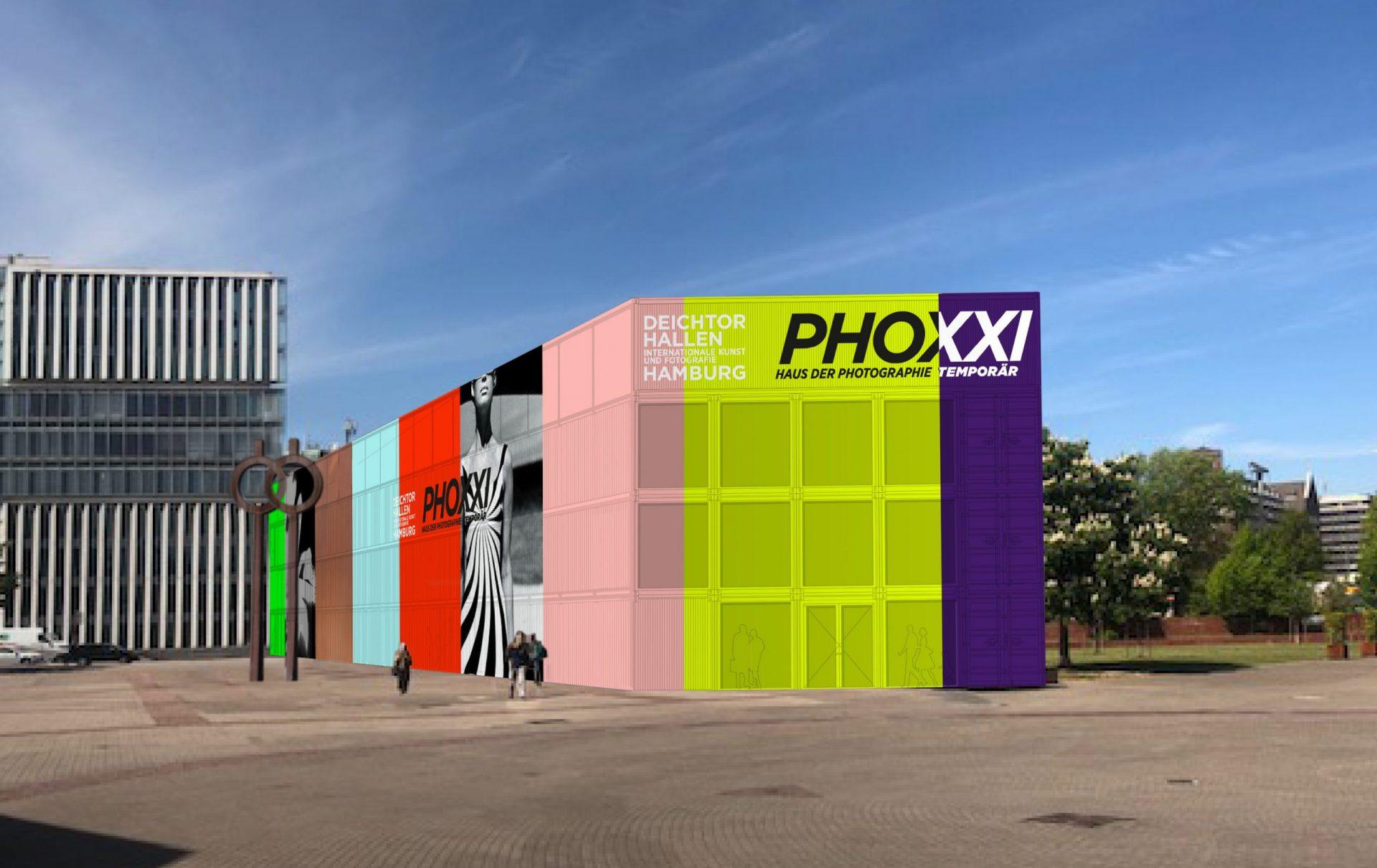 PHOXXI – temporäres Haus der Photographie