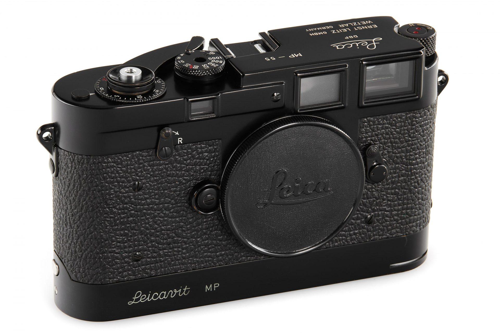 Leica MP black paint