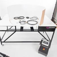 XY-Imager: professioneller, computergesteuerter Rotationstisch für 360° Aufnahmen