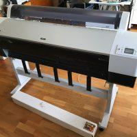 Biete Epson Stylus Pro 9880 44 Zoll + 4m Hahnemühle Leonardo Canvas + viel Hahnemühle Zubehör - Top