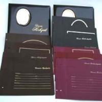 2 Studio-Fotoalbendecke mit ca. 400 Einlageblättern